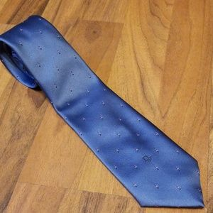 Christian Dior | Men's Blue Silk Blend Neck Tie